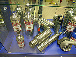 cylinders and silencers