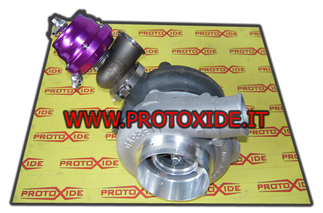 turbo con wastegate esterna attaccata
